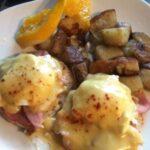 Eggs Benedict or  Eggs Florentine